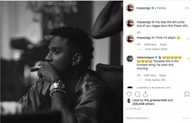 Trey Songz Is Fed Up With The 'Power' Theme Song Comments