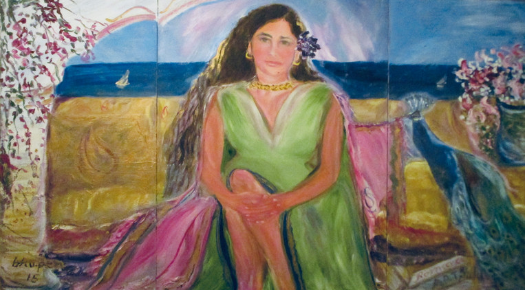 nalini, Artist's wife, also known as Nalu Deo