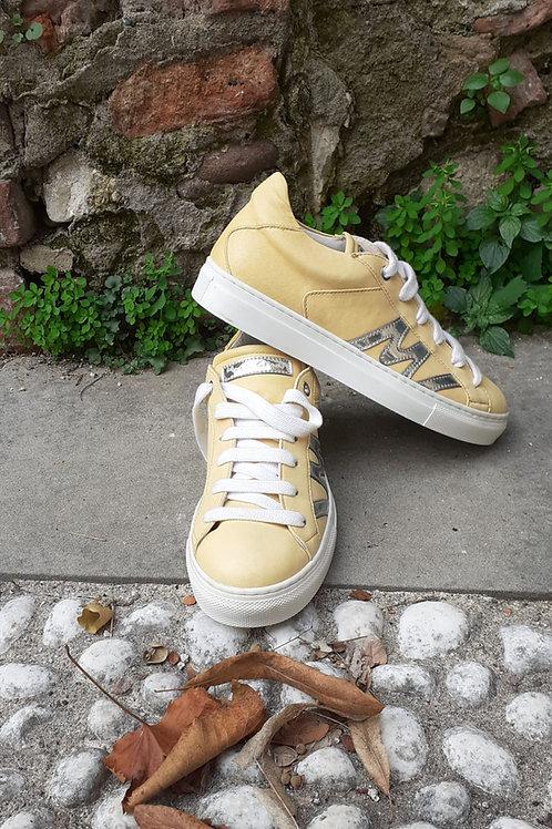 Sneaker in Cuoio
