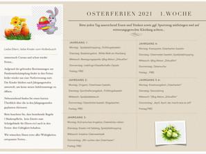 Osterferienplan 2021