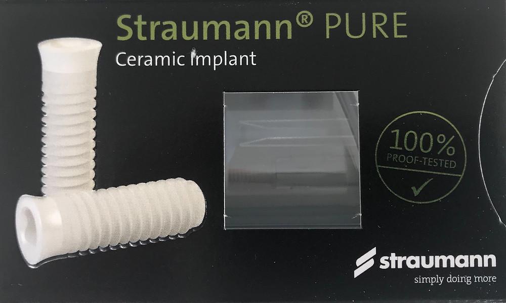 Wir freuen uns Ihnen ein Jahr vor offiziellem Marktstart die neuen Keramikimplantate des Marktführers Straumann anbieten zu können.