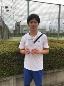 2021年度春季テニス大会《男子シングルス》準優勝