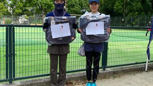 6/13(日) 芝公園にて壮年女子ダブルスが開催されました