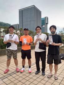 2021年度夏季テニス大会《男子ダブルス》3位ペア