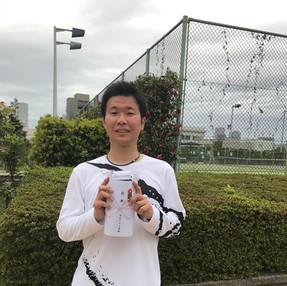 2021年度春季テニス大会《男子シングルス》優勝
