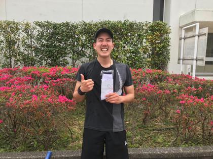 2021年度春季テニス大会《男子シングルス》3位