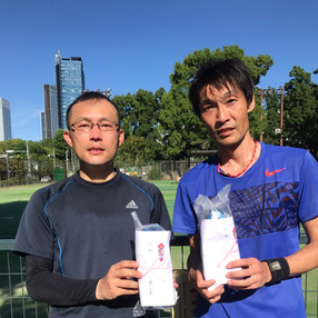2021年度港区民夏季テニス大会《壮年男子ダブルス45》3位ペア