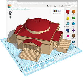 minecraft-tinkercad-hall-dome.png