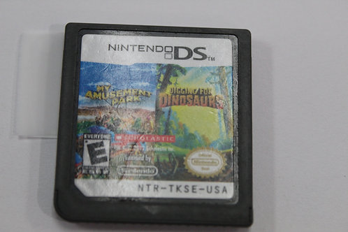 (Nintendo DS) My Amusement Park And Digging For Dinosaurs