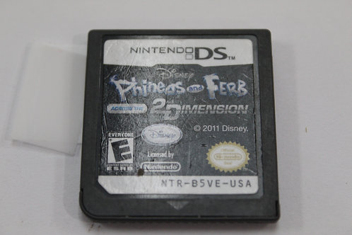 (Nintendo DS) Phineas And Ferb 2nd Dimension