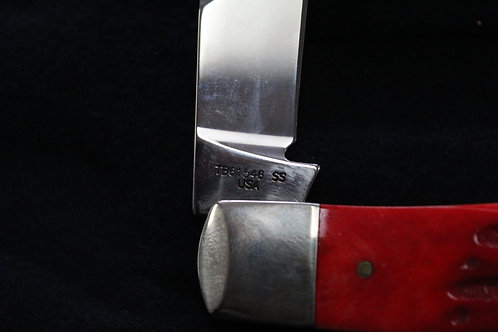 (TB61546 S.S.) Case XX Backpocket Red Deep Canyon Knife
