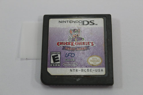 (Nintendo DS) Chuck E Cheese Party Games