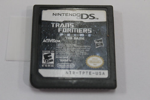 (Nintendo DS) Transformers Prime The Game