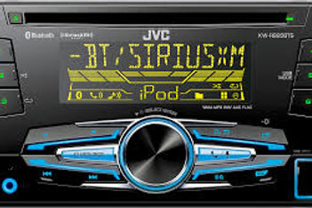 JVC 2X Din CD Bluetooth Receiver. (Online Only)