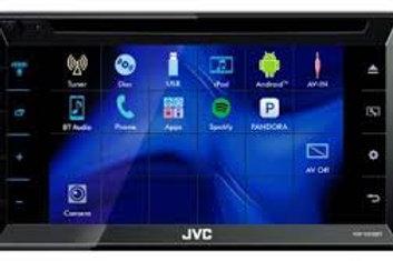 JVC JV-KWV330BT 6.8in 2-DIN Bluetooth Multimedia Receiver (Online Only)
