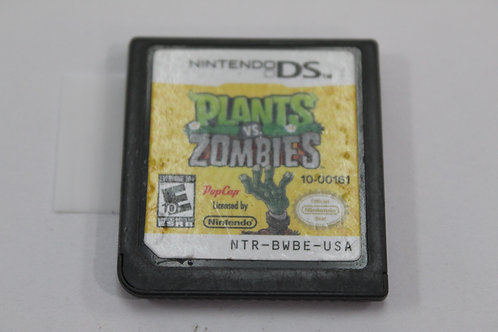 (Nintendo DS) Plants vs. Zombies