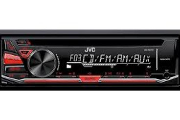 JVC Single DIN In-Dash CD/AM/FM/ Receiver (Online Only)