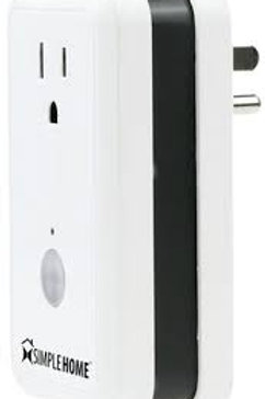 WiFi Smart Controlled Wall Outlet - White (Online Only)