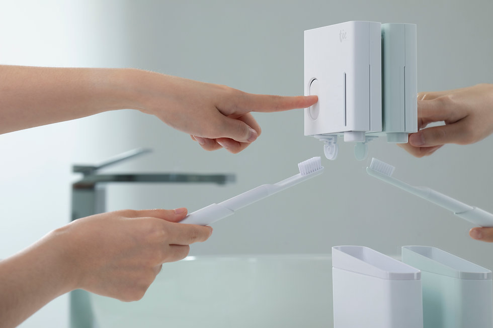 Tic design Oral and razor kit