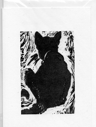 "Greeting Card (Blank) ""Cat 2"""