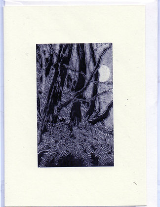 "Greeting Card (Blank) ""Wild Wood 3"""