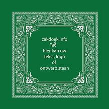 boerenzakdoek met eigen logo - zakdoek.info