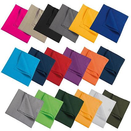 bandana's in 20 kleuren zakdoek.info