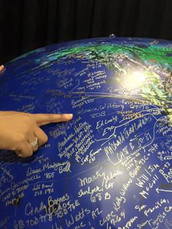 Monica's Autograph