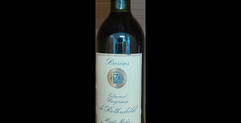Edmond Benjamin Barons de Rothschild 1981 AOC Haut Medoc