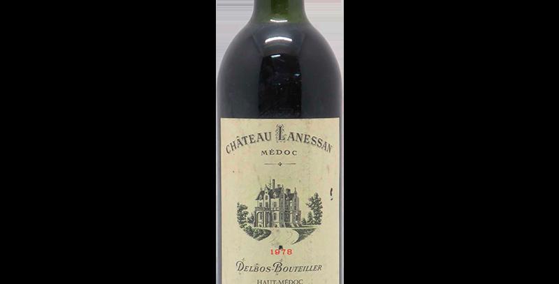 Chateau Lanessan 1978 AOC Haut Medoc