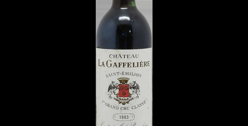 Chateau La Gaffeliere 1983  St Emilion 1st Grand Cru Classe