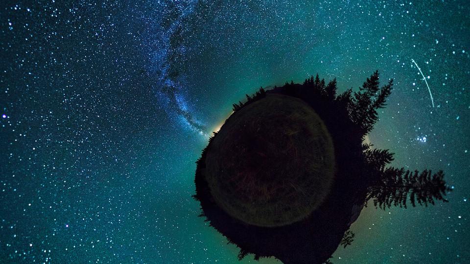 Milky Way in Transilvania