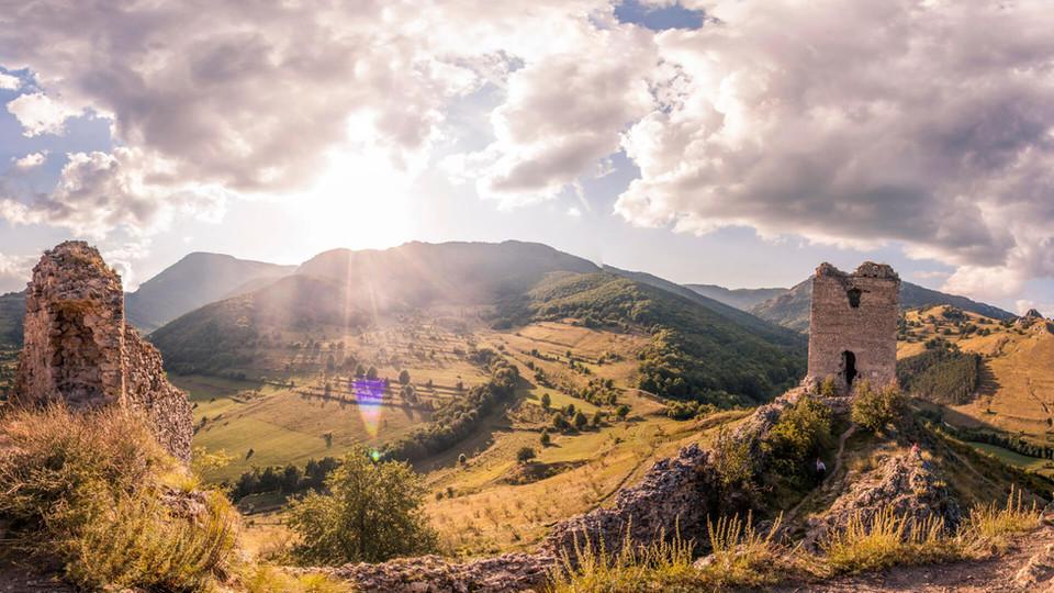 Small town in Transilvania