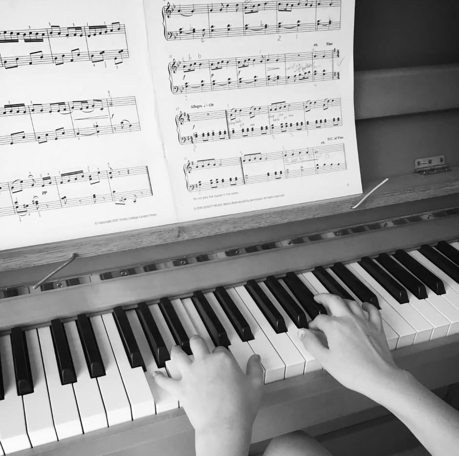 What do you do when you practise?
