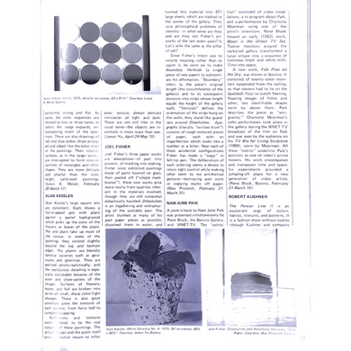 Arts Magazine 1976 Art Review for Victor Atkins