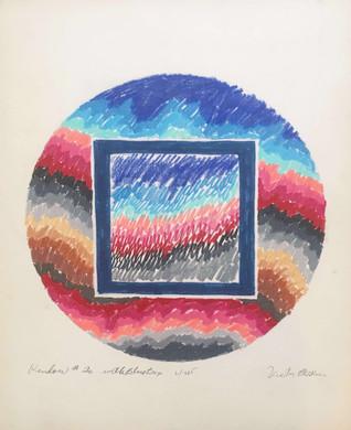 Window #20 With Blue Box, 1985.