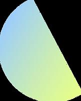 Semi-círculo colorido