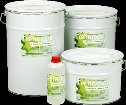 безопасное эффективное моющее средство Техносол замена бензину керосину уайт спирит экоактив эко-актив кемисол формула