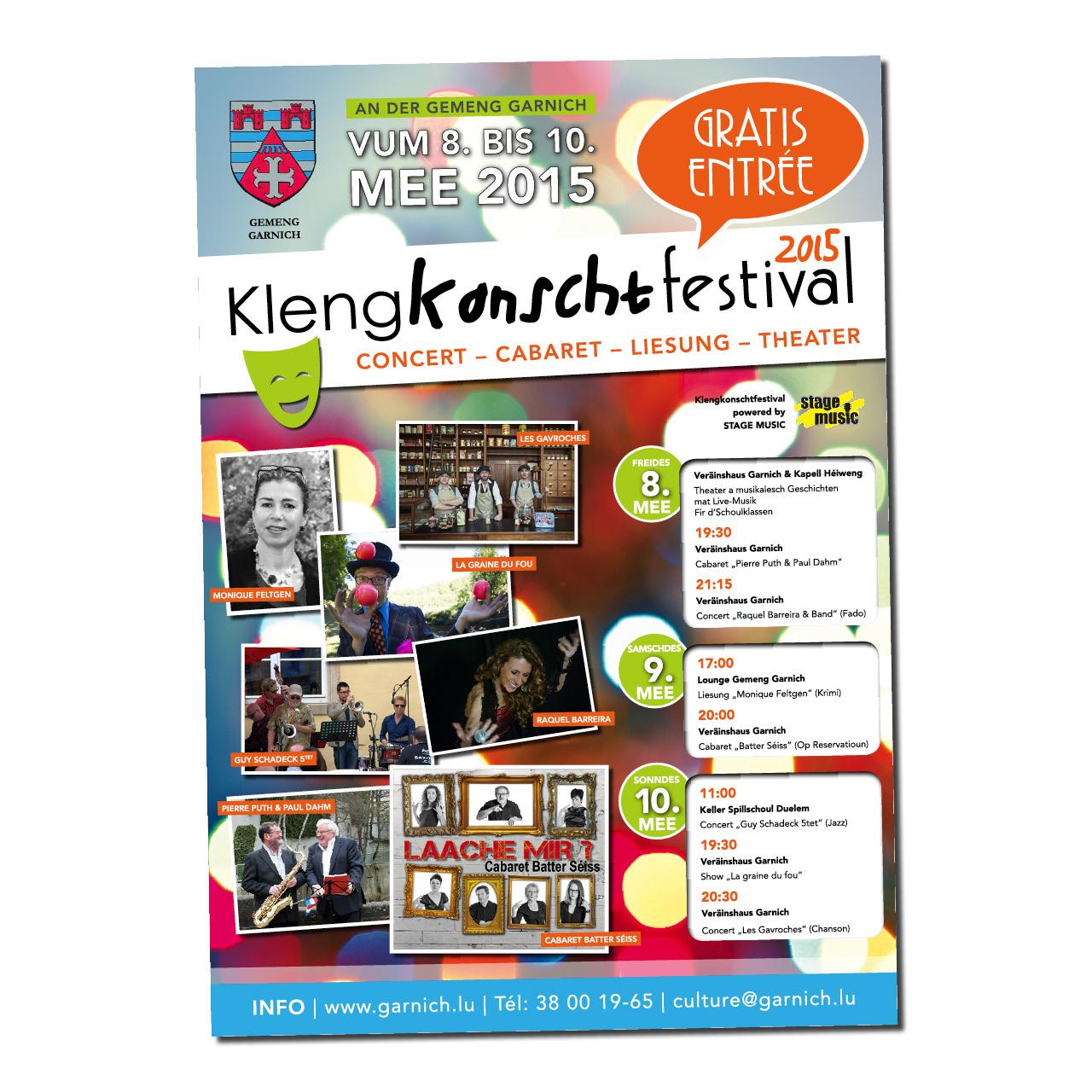 Klengkonschtfestival Garnich