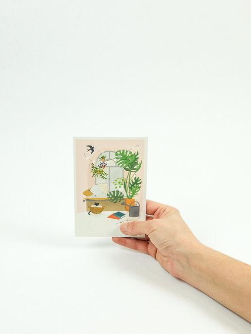 Carte postale FENETRE