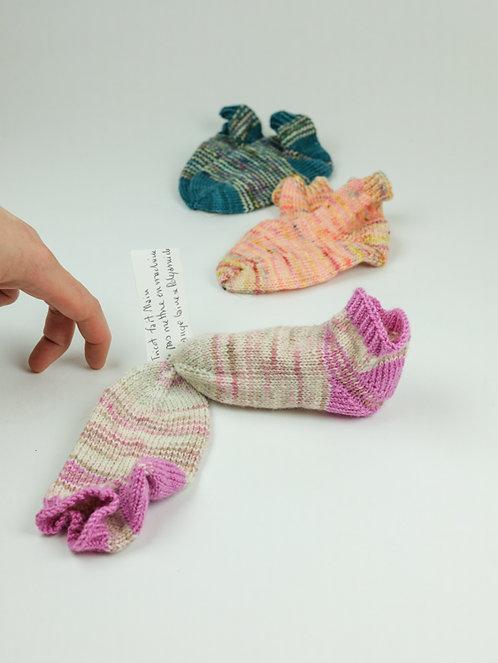 Chaussettes Enfant Rayées 12/15 mois