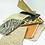 Thumbnail: Grande pochette, cuir intemporel