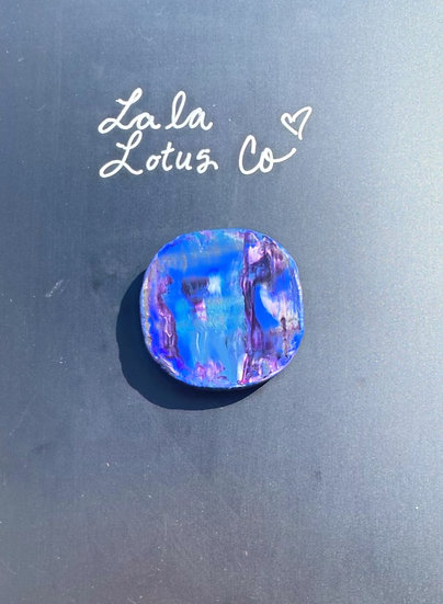 Cool Color Marble Magnet