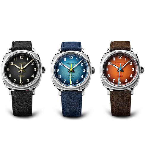Duckworth Prestex Limited Edition set of 3 automatic watches