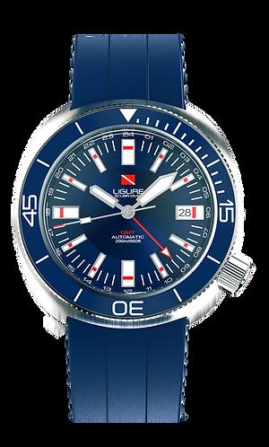 Ligure Scuba Diver - Blue GMT