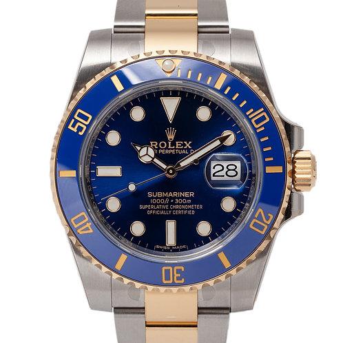 Rolex 2 colour Submariner Date