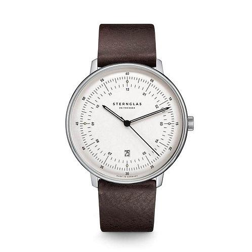 Sternglas Hamburg quartz silver dial watch