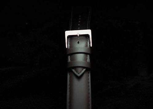 Italian Calf Leather Strap - Black