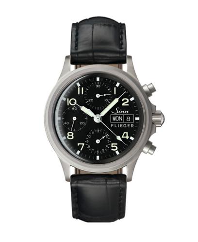 Sinn - 356 Pilot - Black Leather Strap option - 356.020