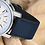muhle glashutte 29er hands date white dial water resistant watch